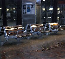 Empty Benches by MickDee