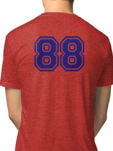 Number 88 Tri-blend T-Shirt