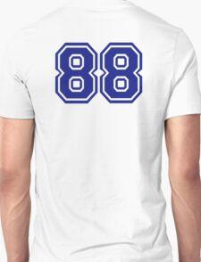 Number 88 Unisex T-Shirt
