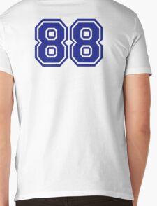 Number 88 Mens V-Neck T-Shirt
