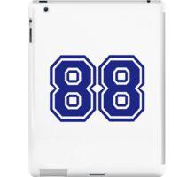 Number 88 iPad Case/Skin