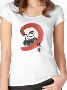 達磨 Daruma Women's Fitted Scoop T-Shirt