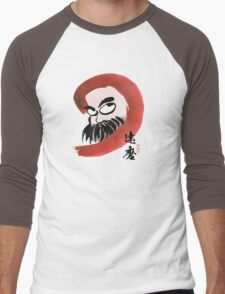達磨 Daruma Men's Baseball ¾ T-Shirt