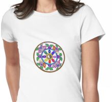 Wheel of Transformation Womens Fitted T-Shirt