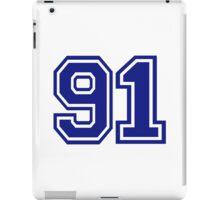 Number 91 iPad Case/Skin