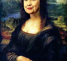 Hillary Mona Lisa by EyeMagined