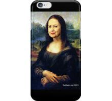 Hillary Mona Lisa iPhone Case/Skin