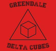 Greendale Delta Cubes Kids Tee
