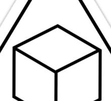 Greendale Delta Cubes Sticker