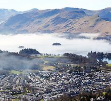 Keswick from the top of Latrigg   by nick pautrat