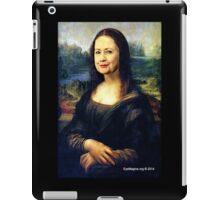 Hillary Mona Lisa iPad Case/Skin