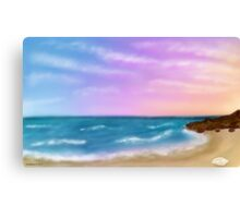 Twilight sky  Canvas Print