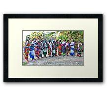Kalacha dancers Framed Print