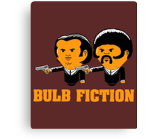 Bulb Fiction Canvas Print