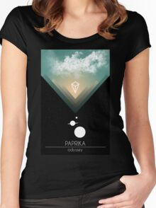 PAPRIKA - Odyssey Women's Fitted Scoop T-Shirt