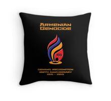 Armenian Genocide 100yr Anniversary Throw Pillow
