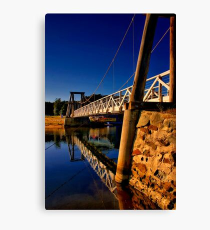 """Reflections of The Crossing"" Canvas Print"