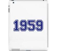 1959 iPad Case/Skin
