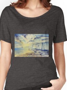 Twilight Stroll on the Beach Women's Relaxed Fit T-Shirt