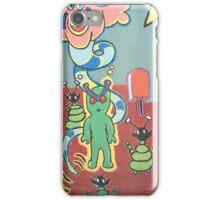 The cartoon wall iPhone Case/Skin