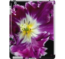 a Tulip with a Picasso touch.. iPad Case/Skin