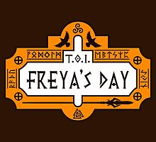 Thanks Odin It's Freya's Day by Bohsky