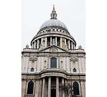 St Pauls Cathedral Closeup Photographic Print