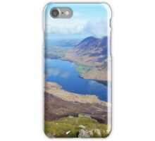View of Crummock, Lake district, Cumbria, England iPhone Case/Skin