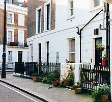 London Residential Street by PatiDesigns