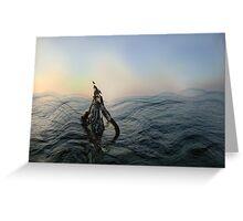 Stormy Ocean Greeting Card