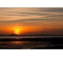 Solent Sunset Photographic Print