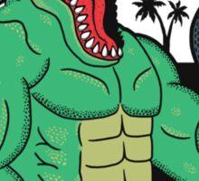 Trainosaurus Rex Sticker