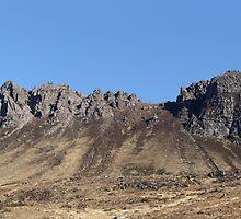 Pap of Stac Pollaidh - Panorama by Maria Gaellman
