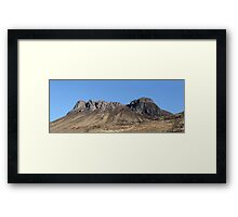 Pap of Stac Pollaidh - Panorama Framed Print