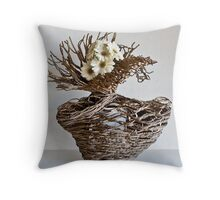 Ikebana-099 Throw Pillow