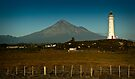 Cape Egmont, Taranaki NZ by Dean Mullin