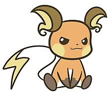 Raichu Photographic Print
