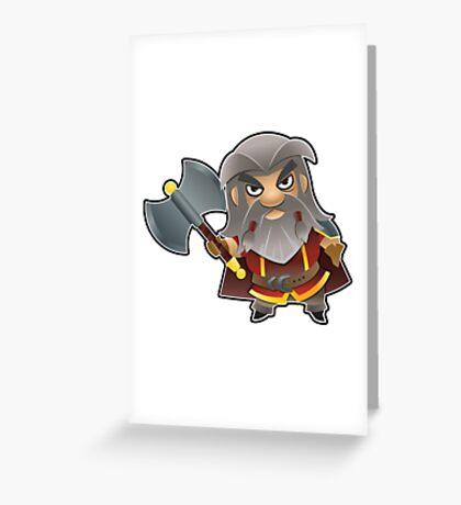 a Dwarf Greeting Card