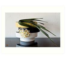 Ikebana-108 Art Print