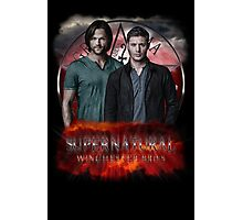 Supernatural Winchester Bros Photographic Print