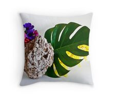 Ikebana-113 Throw Pillow