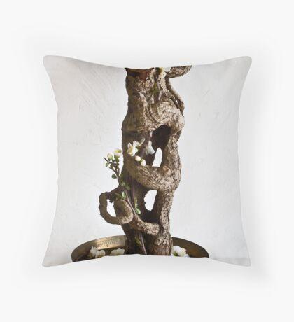 The Embrace-Ikebana-116 Throw Pillow