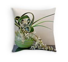 Ikebana-117 Throw Pillow