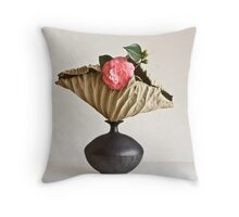 Ikebana-118 Throw Pillow