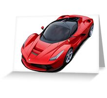Ferrari LaFerrari Greeting Card