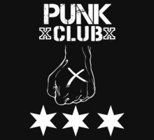 Punk Club T - Shirt by DannyDouglas96