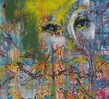 Abstract Woman's face by ArtPazBiz