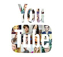 Youtubers Youtube Logo by CeriBall