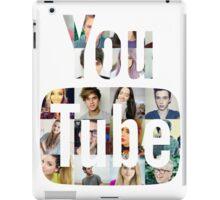 Youtubers Youtube Logo iPad Case/Skin