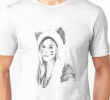 Dotwork Girl Unisex T-Shirt